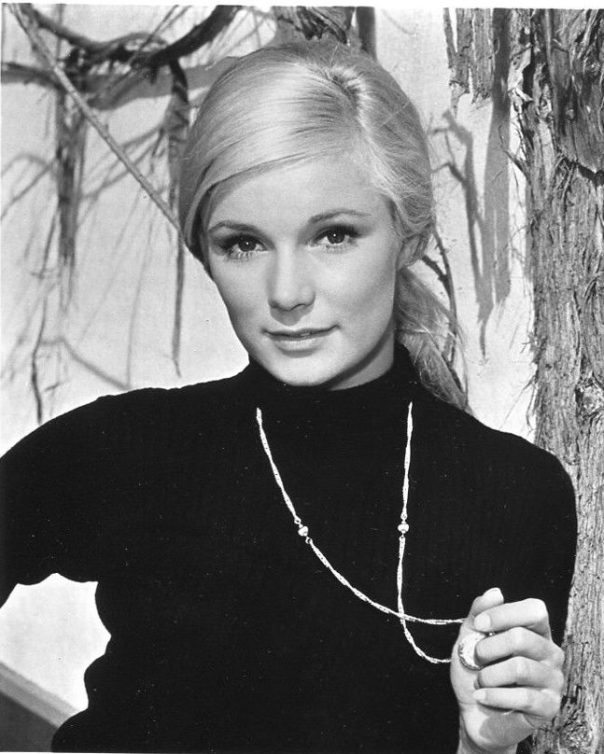 YVETTE MIMIEUX sexy glamour headshot Publicity Press Photo '60s 70s S