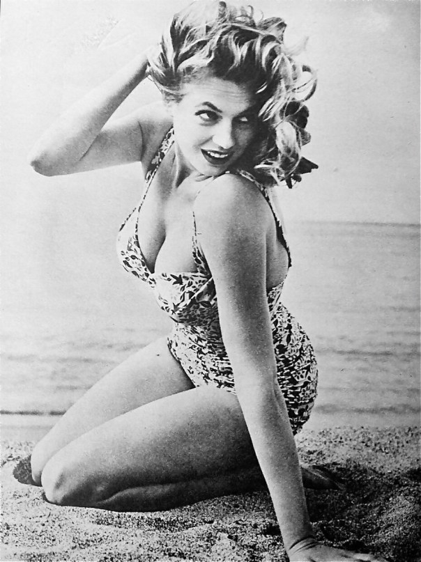 1931 Anita Ekberg swimsuit