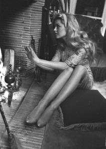 Brigitte Bardot fireplace