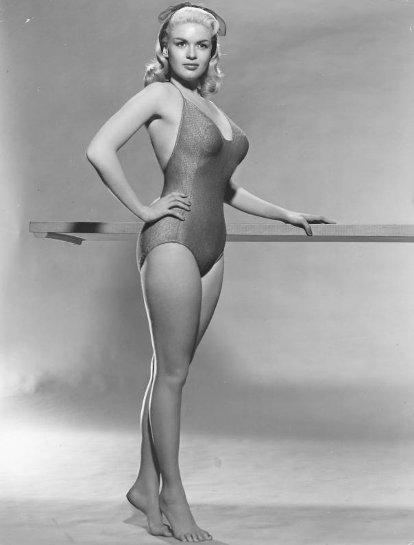 Jayne Mansfield exercise