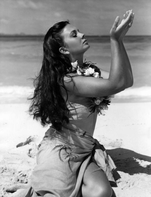 Jean Simmons Blue Lagoon 1949
