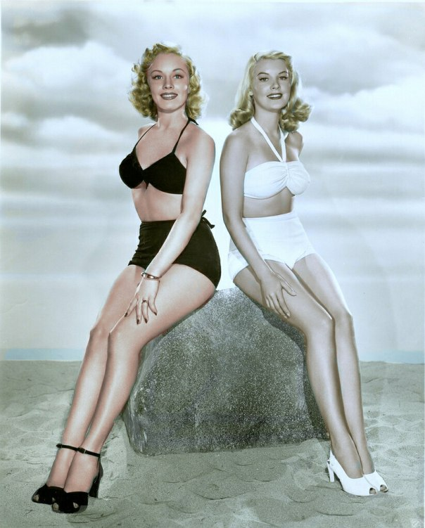 Leslie Brooks and Penny Edwards
