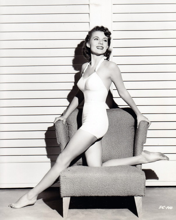 Peggie Castle- born Peggy Blair 22 December 1925, Appalachia Virginia