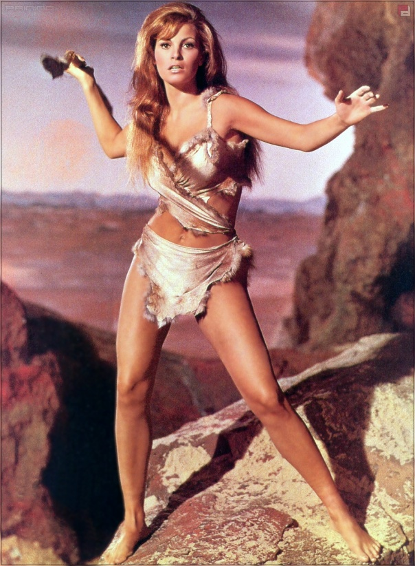 Raquel Welch 1966 One Million Years BC color