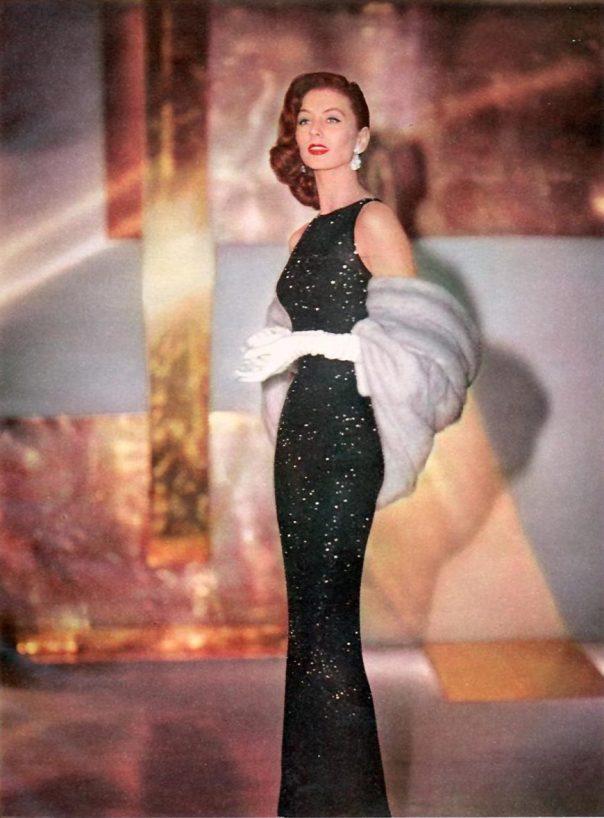Suzy Parker (1932 – 2003) suzy-modess-ad