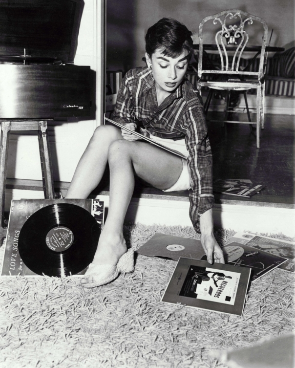 audrey-hepburn-records