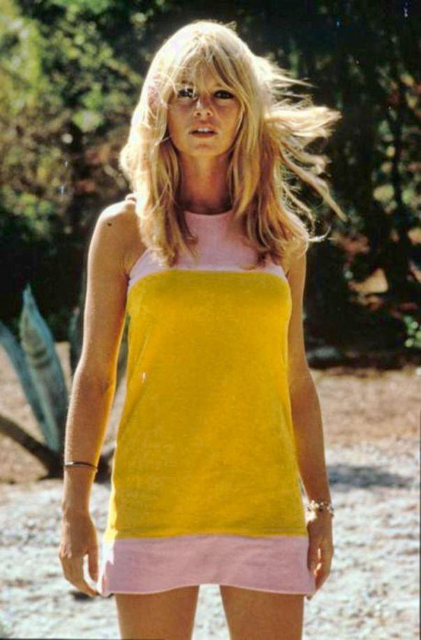 brigitte-bardot-yellow-dress