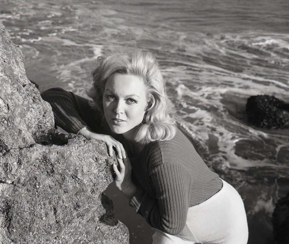 Cynthia Lynn Gorgeous Beach Pinup Sexy 1966 2