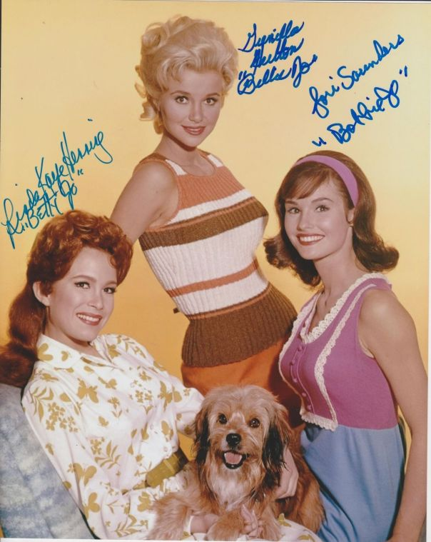 gunilla-hutton-linda-henning-lori-saunders-signed-petticoat-junction-photo