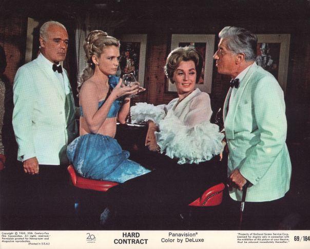 lee-remick-hard-contract-1969-8x10-movie-photo-mini-lobby-card-nn