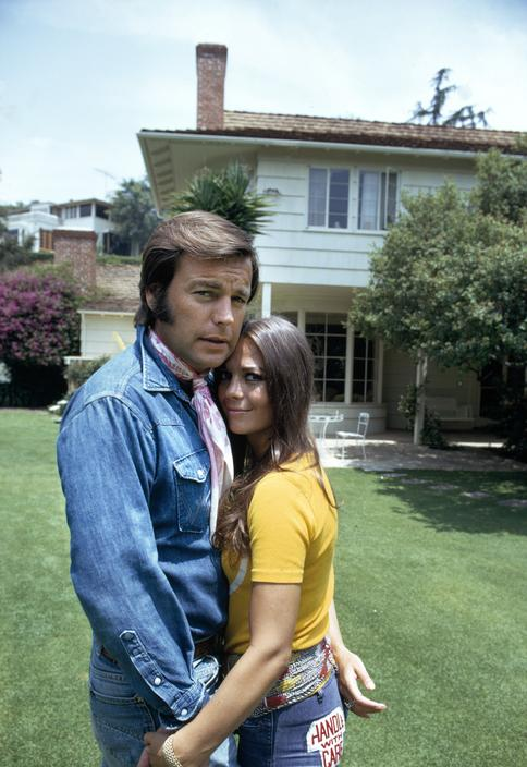 natalie wood and robert wagner � 24 femmes per second